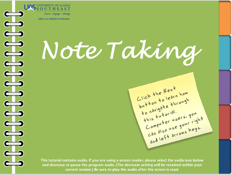 the note essay
