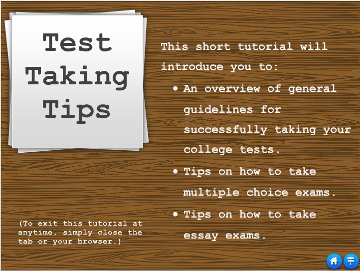 test tips graphic