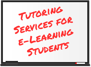 Tutoring Services for E-Learning Students