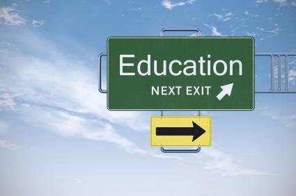 education_roadsign