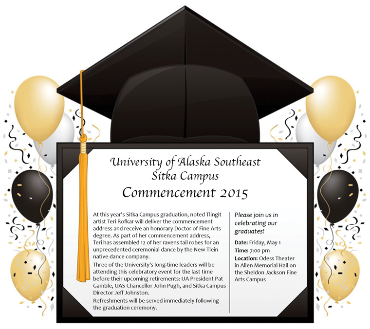 UAS Sitka Commencement 2015 Information