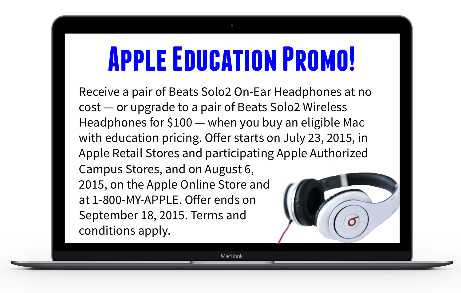 Apple Education Promo
