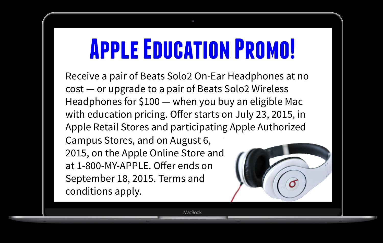 Apple Education Promo